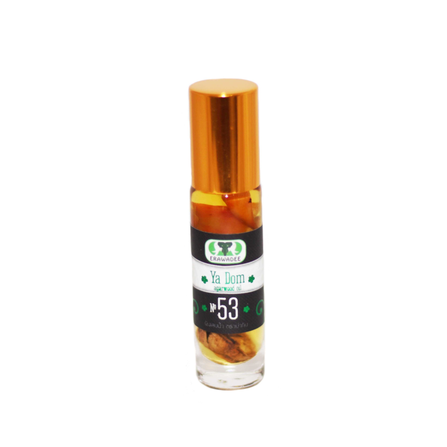 No.53 Natural Inhaler Ya Dom with agarwood oil